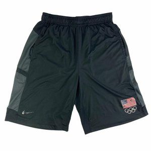 Nike Dri-Fit Mens USA Olympics Athletic Shorts M